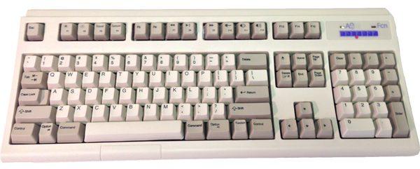 Modern Unicomp buckling spring keyboard.