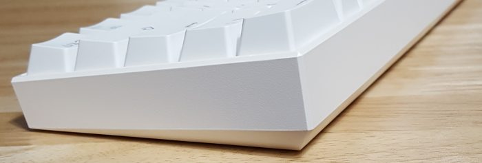 Angular design with beveled edges and corners
