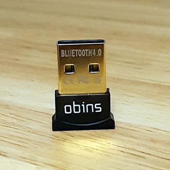 Bluetooth 4.0 dongle provides wireless support for devices without Bluetooth
