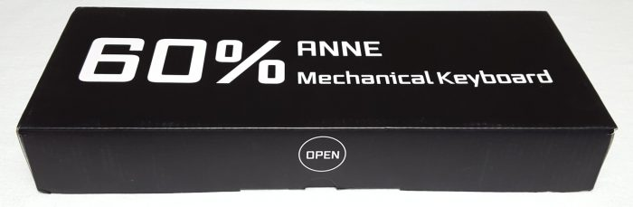 Front of the Anne Pro box