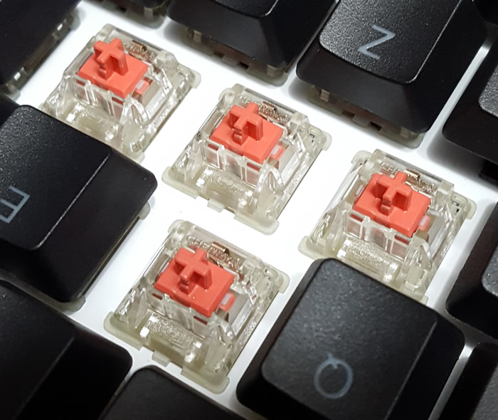 Cherry MX Silent Red Switches