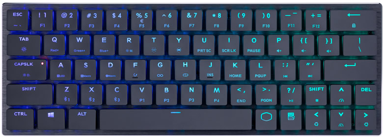 New Cooler Master Wireless Mechanical Gaming Keyboard