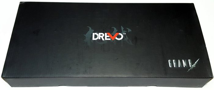 The Drevo Gramr comes packaged in plain black box.