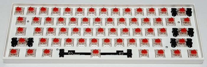 Gateron Red linear switches with SMD-LED support