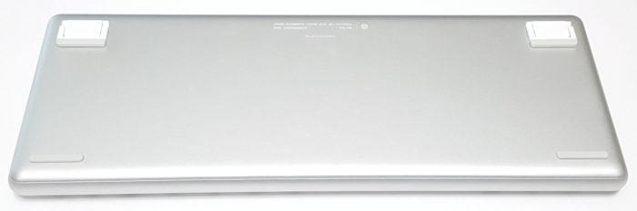 Bottom of the XiaoMi Yuemi Pro MK02 mechanical keyboard