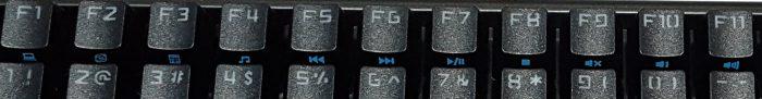 Media shortcut keys