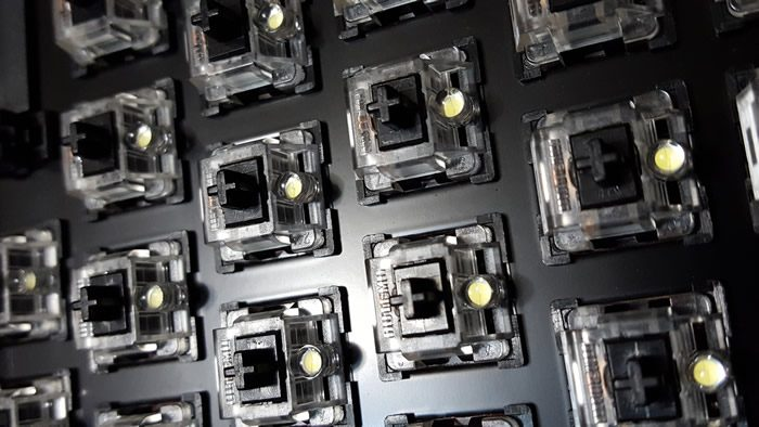 Outemu Black linear switches