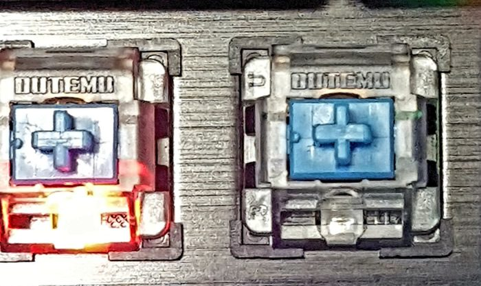 Outemu switches